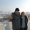 Guides Denis Sobnakov and Tarakanovskiy Zhenya near Ulan-Ude, Siberia, 1/18/2013, Sandy's camera