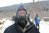 Check out the ice around Gary's eyes after he survived dog sledding in the minus 15 degrees weather! Listvyanka, Siberia, 1/22/2013
