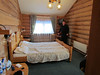 Our room at the Wooden Hotel, Listvyanka, Siberia. 1/21/2013