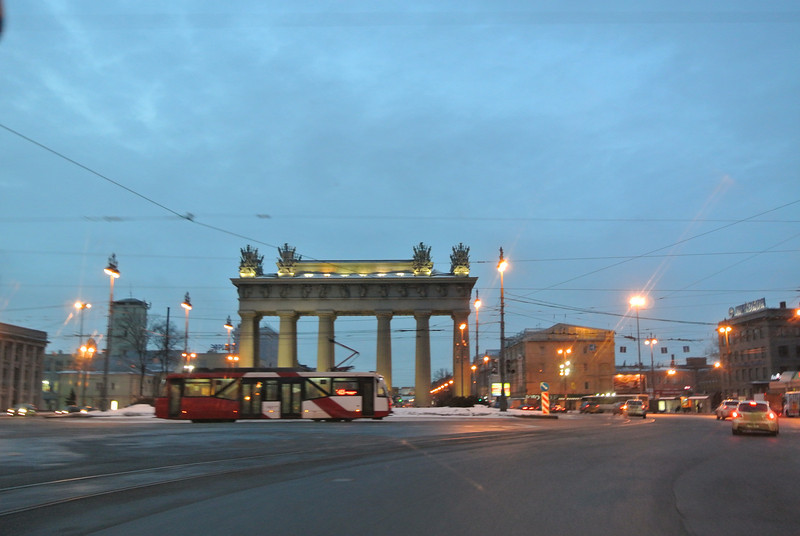 St Petersburg, Russia at 10AM. 2/3/2013, Sandy's camera