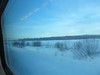 3 hr train ride from St Petersburg, Russia to Helsinki, Finland 2/4/2013