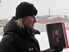 Renata Broda, our guide in Sweden for 1 day, 2/15/2013