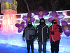 - 10 degrees F!  Shirley, Gary and Sandy (Shirley's cousin) Dubuque at the the Harbin Ice Festival, Harbin, China. 1/11/2013