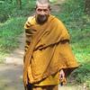 Monk near Lod cave, Thailand, 10/14/2013