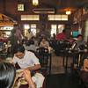 Lunch areas. Yangon, Myanmar (Burma), 10/18/2013