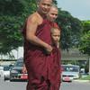 Monks were everywhere. Yangon, Myanmar (Burma), 10/18/2013