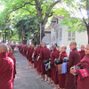 We watched over 1,000 monks from this monastery get their daily food from the local people. Mandalay, Myanmar, 10/22/2013