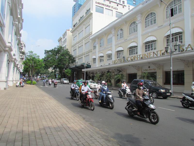 We flew to Saigon, Viet Nam, 11/1/2013