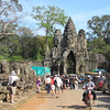 World Heritage site of Angkor Thom which was built in the 11th or 12th century, Cambodia. 11/6/2013