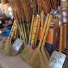 Brooms for sale. Market, XiengKhouang, Lao, 11/11/2013