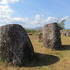The Plain of Jars site #1, from at least 2,000 yrs ago. World Heritage site at Phonesavanh in NE Laos, 11/11/2013