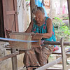 It seems that every home in Laos has a loom, Ban Muangkao, Laos, 11/14/2013