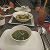 Bamboo soup (not so good), Tamarind Café and Cooking School for dinner. Luang Prabang, Laos, 11/13/2013