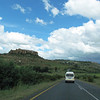 Driving in the country of Lesotho, 3/12/2014