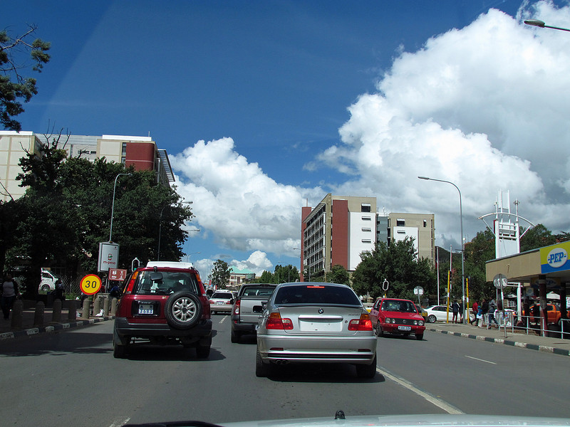 Masuru, capital of Lesotho, 3/12/2014