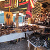 Wood craft market.  Namibia, 3/21/2014