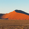 This is the oldest desert on earth and it has the highest sand dunes in the world. Namib Naukluft Park with sand dunes of Sossusviel, Namibia, 3/30/2014