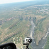 Helicopter ride with their camera showing, over Victoria Falls, 4/3/2014