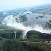 Helicopter ride over Victoria Falls, 4/3/2014