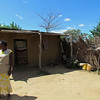 Typical home, village of Sindie. near Livingston, Zambia, 4/6/2014