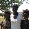 People at the village of Sindie near Livingston, Zambia, 4/6/2014