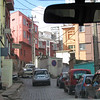 Driving up on one of the the hills of Antananarivo, the capital of Madagascar, 4/8/2014