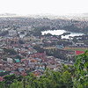 View from our hotel's balcony of Antananarivo, Madagascar, 4/8/2014
