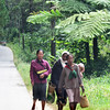 Everyone walks for transportation. Madagascar, 4/10/2014