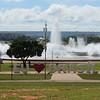 Fountain in the city center, Brasilia, Brazil, 2/16/2018