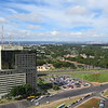 Park in the distance, Brasilia, Brazil from high tower, 2/16/2018