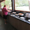 Buffet lunch at our Rio Claro Lodge, Pantanal area of Brazil, 2/18/2018