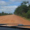 Pavement ends and dirt roads from now on in the Pantanal area of Brazil, 2/18/2018