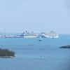 Cruise boats, Bermuda, 6/1/2017