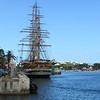 Americo Vespucci tall ship, Hamilton, Bermuda, 5/31/2017