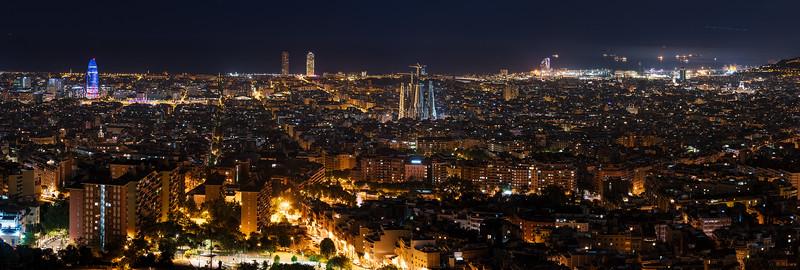 Barcelona Nightscape