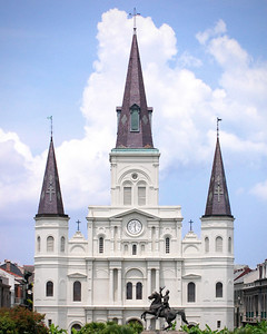 New Orleans, Louisiana 2011 - St. Louis Cathedral