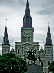 New Orleans, Louisiana 2009 - St. Louis Cathedral