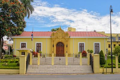 La Casa Amarilla, sede del Ministerio de Relaciones Exteriores de Costa Rica.
