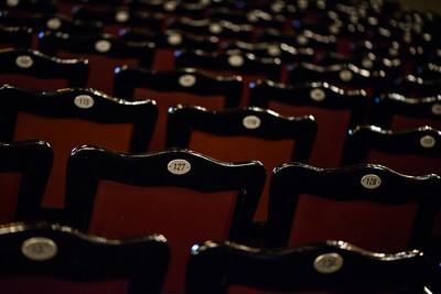 Interior Teatro Nacional de Costa Rica.