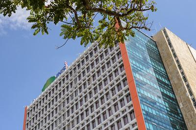 Edificio Principal del Instituo Nacional de Seguros de Costa Rica (INS).
