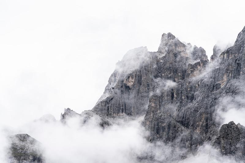 Clouds in The Dolomites