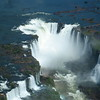 Iguazu Falls Devil's Throat from helicopter
