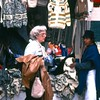 Barbara at Otavalo market
