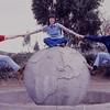 Doug, Joel , and George at equator monument