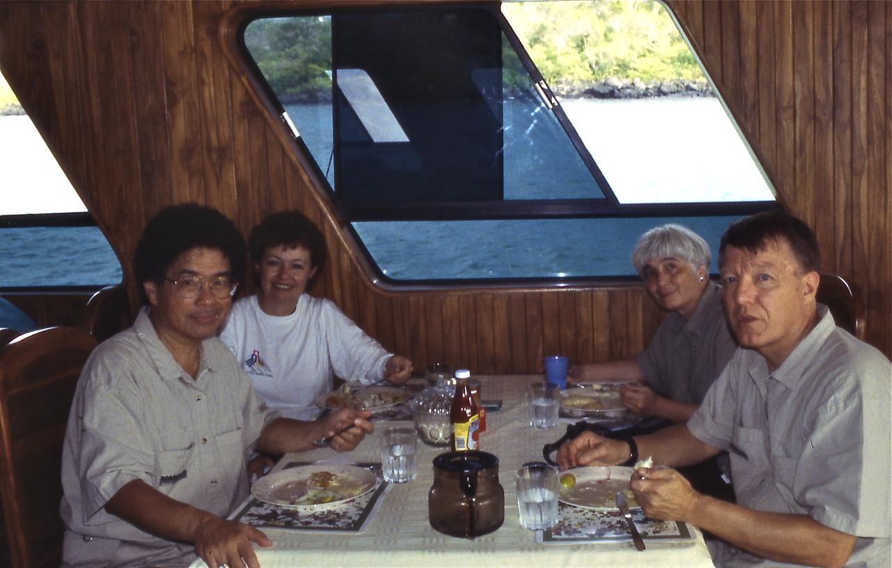 Harry, Rosemary, Joel and George