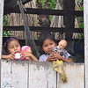 River children with their dolls (George)