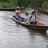 Sally canoeing