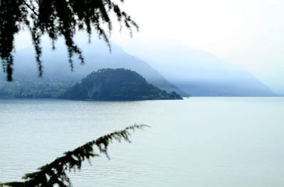 """""""View of Bellagio"""", Lake Como, Northern Italy"""