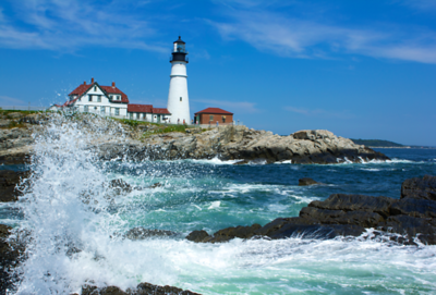 """Portland LightHouse"",  Portland, Maine"