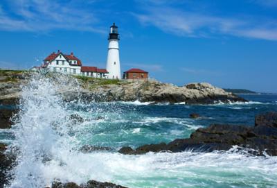 """""""Portland LightHouse"""",  Portland, Maine"""